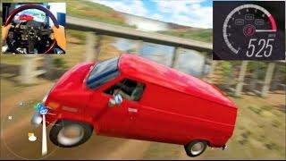 Forza Horizon 3 - GoPro Train GLITCH 525mph+ Flying Through The Air !