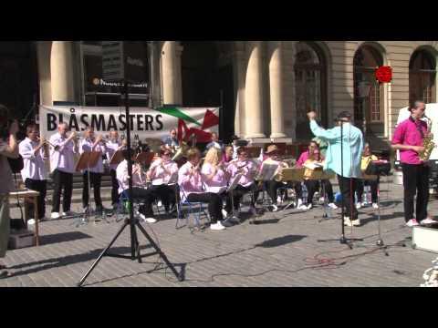 Konsert m Blåsmasters på Stortorget, Stockholm