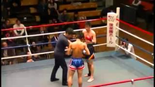 学生キックボクシング 田中(創価)vs岡田(国士舘) 11月30日 後楽園大会 第15試合 ライト級
