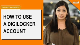 Why Not Mint Money | How to use a DigiLocker account