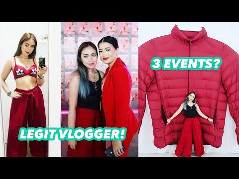 3 EVENTS? LEGIT VLOGGER! - candyloveart thumbnail