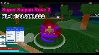 all forms NEW GOKU [Power levels roblox] [1080p]