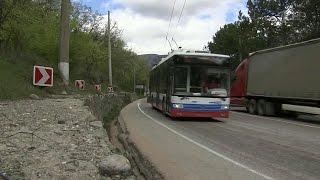 В Крыму восстановили движение троллейбусов.(, 2016-04-22T19:26:54.000Z)