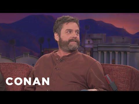 Zach Galifianakis Wants NPR To Stop Making Fun Of Him  - CONAN on TBS
