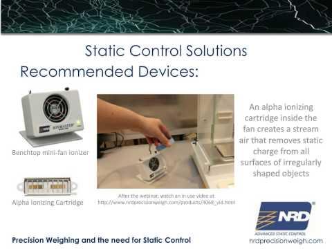 Static Control Laboratory Solutions Webinar