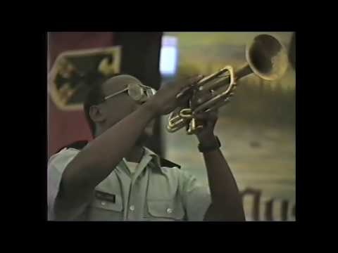 7th  US Army Big Band - 1987 - Musikverein Einigkeit Rheinhausen - Schulhof Rheinhausen - Teil 1