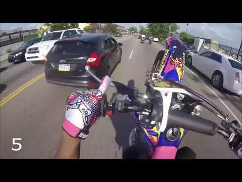 Как уйти от ДПС на мотоцикле?/Топ 10 уходов мотоциклистов от ДПС