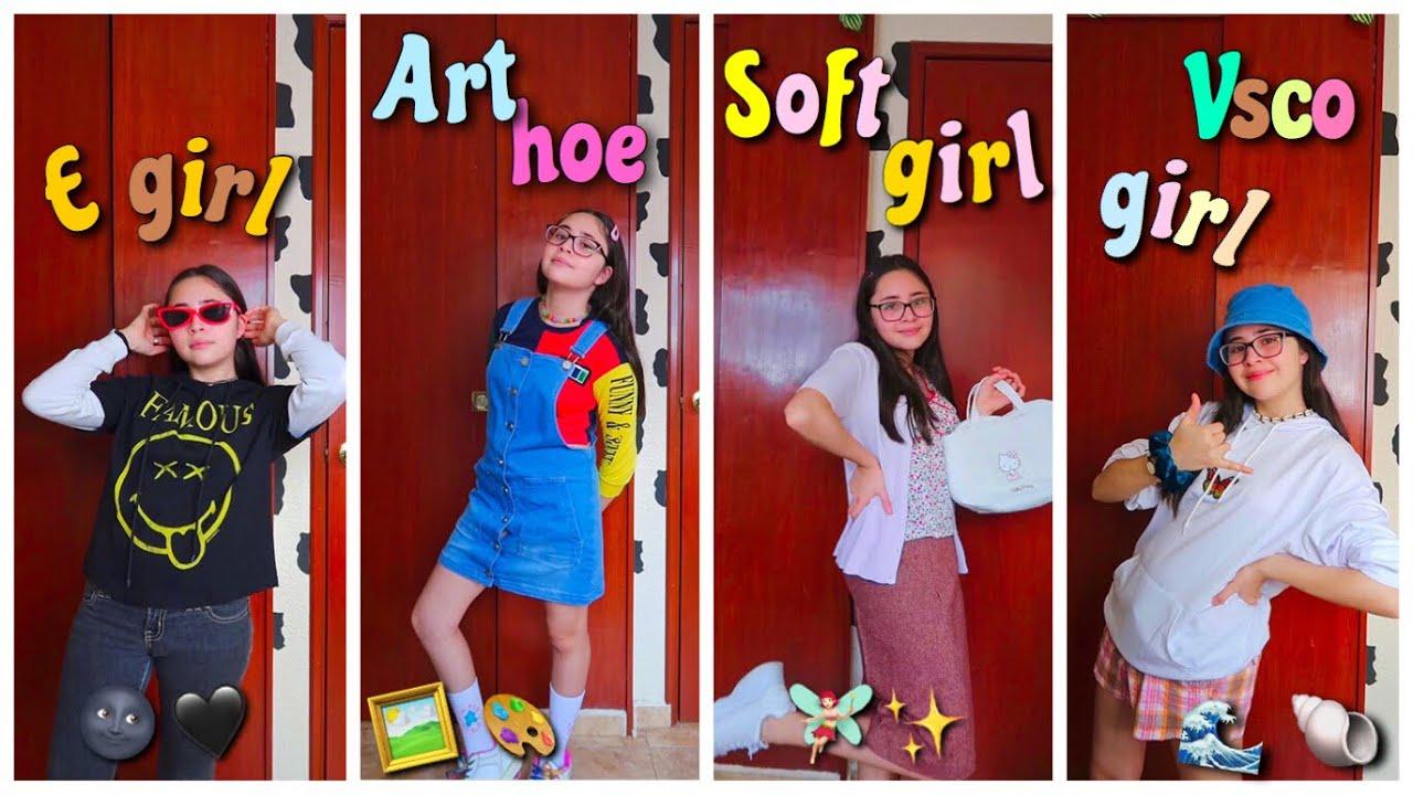 ME VISTO CON CADA TIPO DE AESTHETIC🧃🐉 VSCO,SOFT,ART HOE☆ Soy Mich Blogs