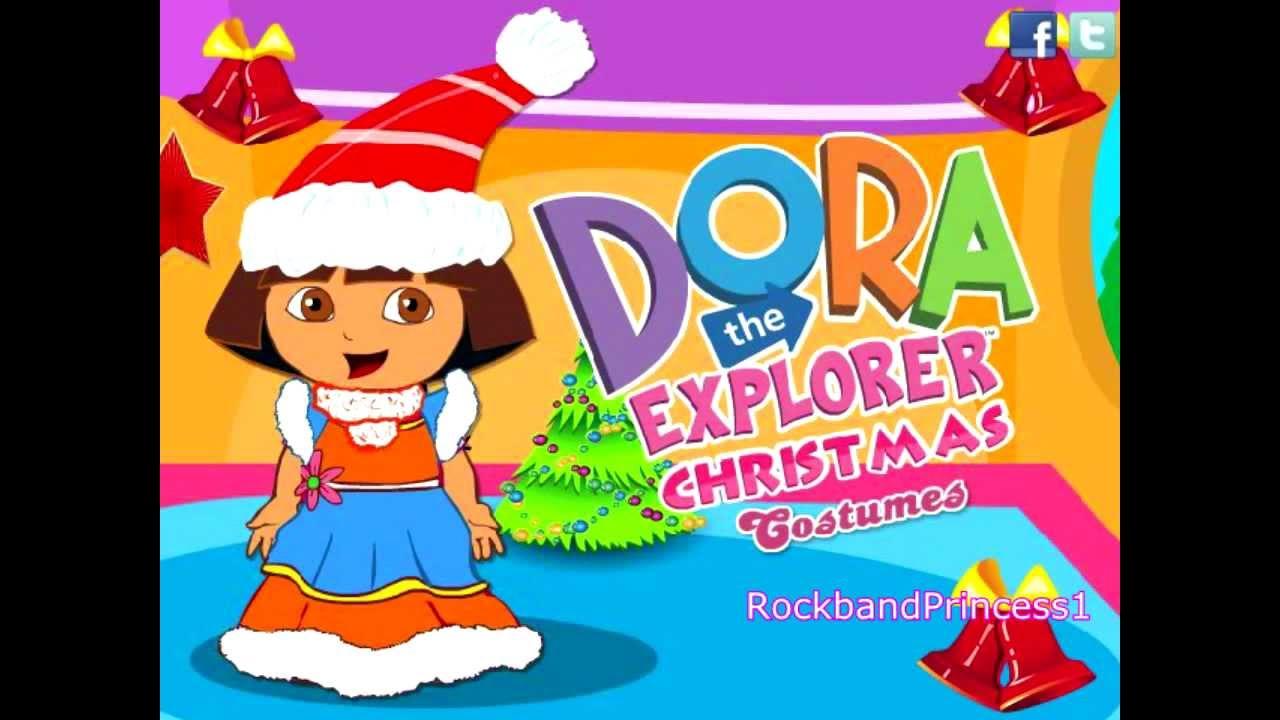 Dora The Explorer Games Online To Play Free Dora Christmas ...
