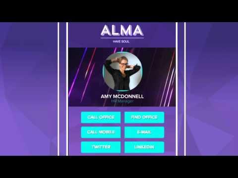 Alma iCard – The new digital business card!