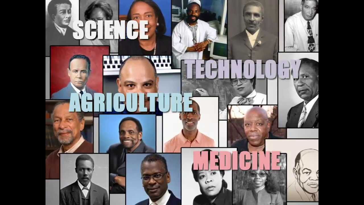 Image result for collage of african american scientists and inventors