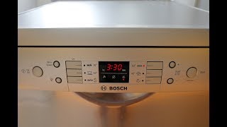 BOSCH Serie 6 Dishwasher Review
