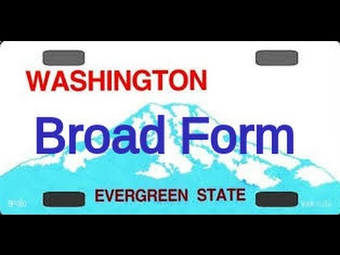broadform auto insurance