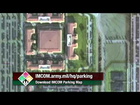 Parking Map for IMCOM Headquarters