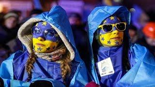 видео С поздравлениями к украинскому «безвизу»