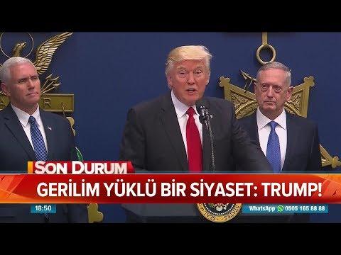 Gerilim Yüklü Bir Siyaset: Trump! - Atv Haber 13 Ağustos 2018
