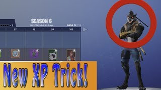Get Fortnite Tier 100 Fast Season 6 by NOT WINNING! | Level Up Tips and Tricks | Dire Grind