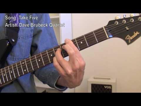 Take Five (guitar lesson)