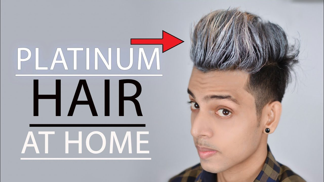Platinum, Silver, Gray Hair Color At Home ☆ SAYAN ☆How To Use ...