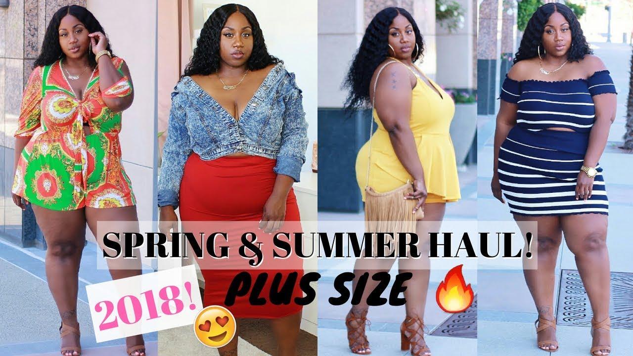 19a2cd958f8 SIS!!! WE BACK!! PLUS SIZE SPRING SUMMER HAUL 2018! SHOP ...