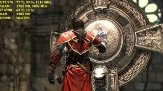 Castlevania: Lords of Shadow | GTX 970 OC | Max Settings 4K | No AA