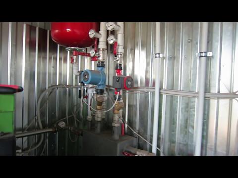 Самая экономичная система отопления производственного помещения 500 м2