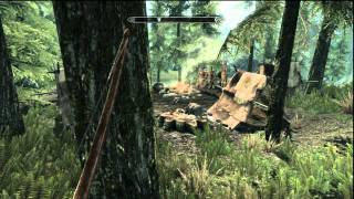 First look at Bethesda Skyrim The Elder Scrolls 5 on PS3 Captured using HD PVR Review