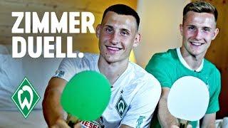 Zimmerduell - Maximilian Eggestein & Johannes Eggestein   SV Werder Bremen