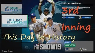 【MLB THE SHOW 19】MOMENTS 3RD INNING-THIS DAY IN HISTORY COMPLETED PS4 HD 歷史上的這一天