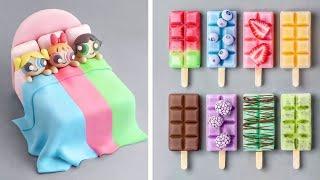 How To Make Rainbow Cake Decorating Ideas  Amazing Cake Decorating Recipes  So Yummy Cake