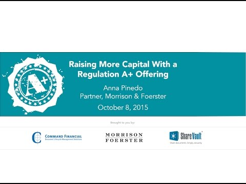 Raising More Capital With a Regulation A+ Offering