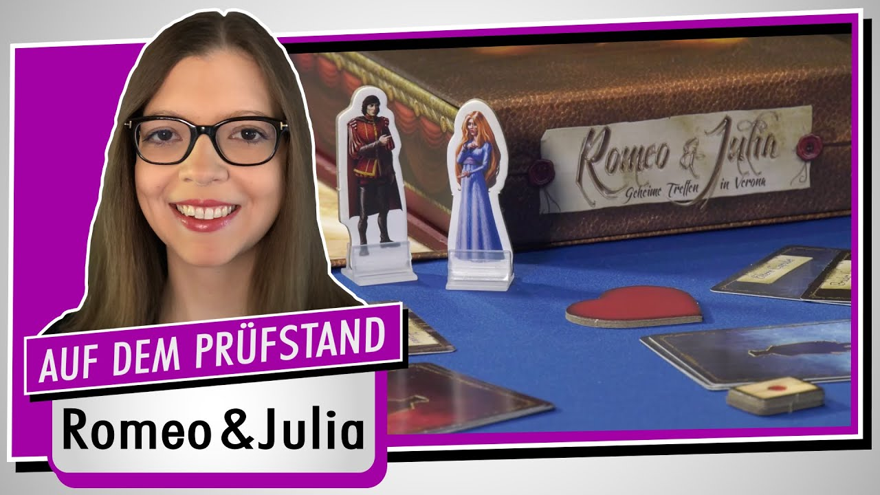 Spiel doch mal ROMEO & JULIA! - Brettspiel Rezension Meinung Test #374