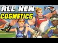 Overwatch Olympic Summer Games ALL COSMETIC ITEMS! | SKINS, EMOTES, VOICE LINES & MORE!