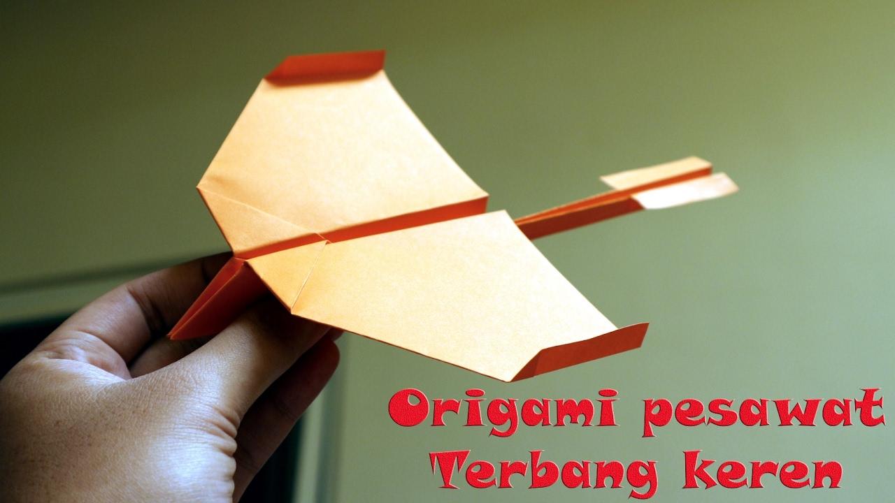 Origami Pesawat Terbang Lama