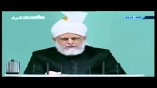 Проповедь Хазрата Мирзы Масрура Ахмада (01-10-10) часть 3
