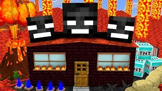DIESES WITHER BOSS HAUS HAT VIELE FALLEN