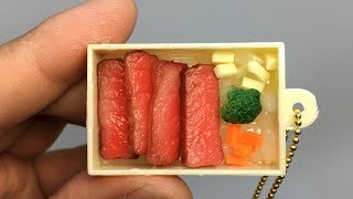 【ASMR】japanese lunch box(go-to-chi-bento),miniature