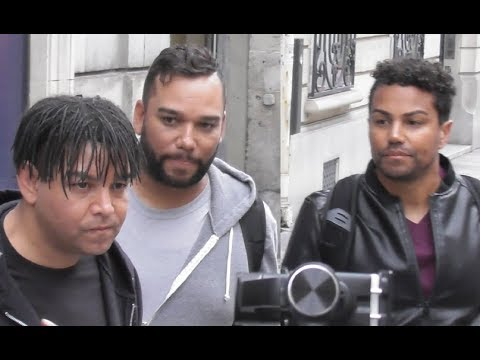 3T Taj Taryll TJ @ Paris radio station 25 may 2018 for a new album / mai