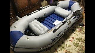 MARINER3 大人3人余裕で乗れるゴムボートレビュー開封編 thumbnail