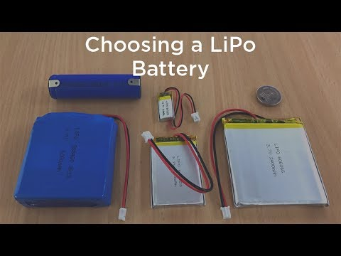 Choosing Your Next LiPo Battery (Lithium-ion Polymer Battery