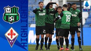 Sassuolo 3-1 Fiorentina | Berardi trascina i neroverdi | Serie A TIM