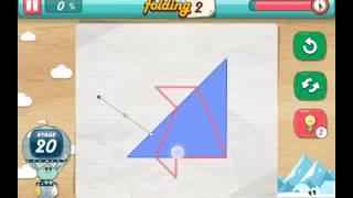 let's fold Lets Fold origami level 20  Walkthrough