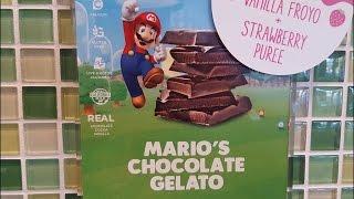 Yogurtland Mario's Chocolate Gelato Review - CarBS