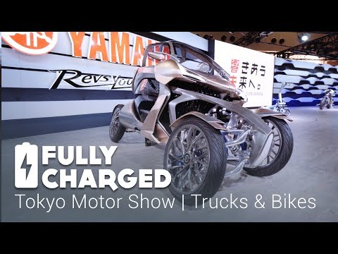 Tokyo Motor Show 5 - Trucks and Bikes | Fully Charged