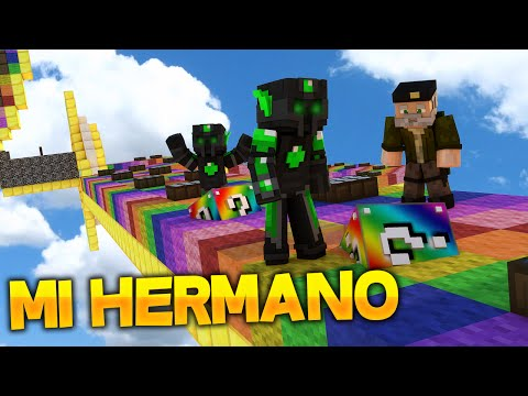 MI HERMANO - Willyrex vs sTaXx - Carrera épica Lucky Blocks