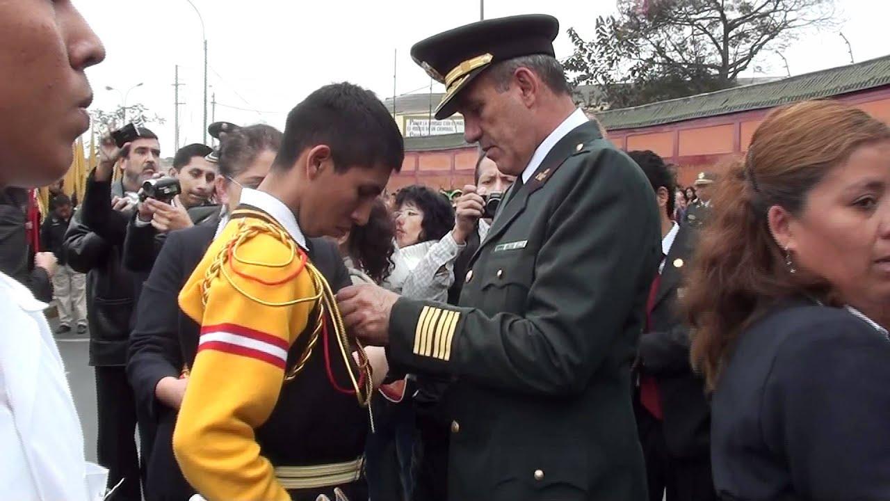 IMPOSICION DEL CORDON DE POLICIA ESCOLAR PLAZA DE LA BANDERA 2011