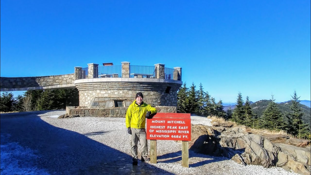 Forest service) and ends at the summit. Mount Mitchell Trail Hike