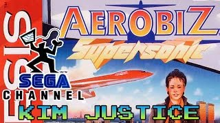 Aerobiz Supersonic Review + Sega Channel Memories - Sega Genesis/Mega Drive - Kim Justice