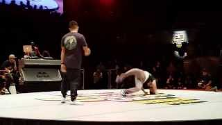 Red Bull BC One Denver final battle 2015 - Kid Cruz v. Data