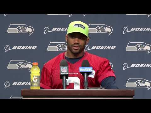 Seattle Seahawks Quarterback Russell Wilson Week 7 Press Conference